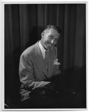 Primary view of object titled 'Stan Kenton at the piano'.