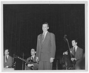 Primary view of object titled '[Stan Kenton and orchestra members]'.