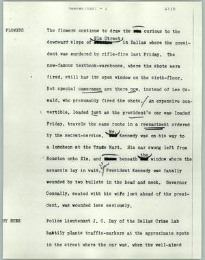 Primary view of object titled '[News Script: Reenactment]'.