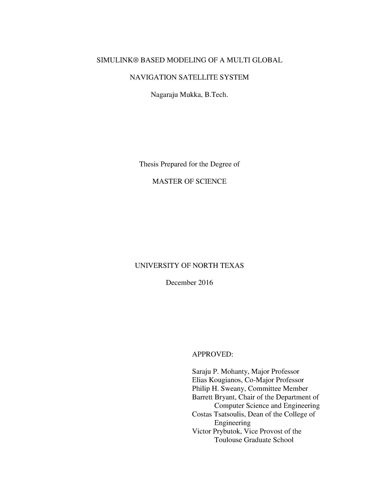 Uhf in libraries master thesis