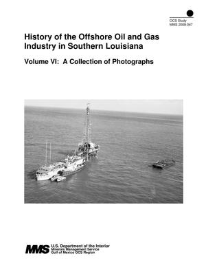 Primary view of object titled 'History of the Offshore Oil and Gas Industry in Southern Louisiana'.
