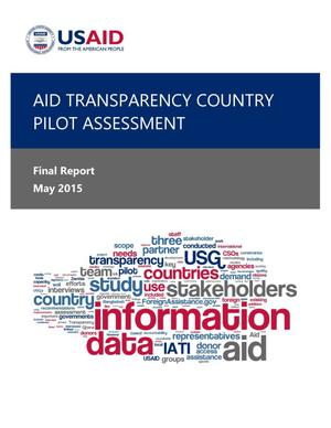 Primary view of object titled 'Aid Transparency Country Pilot Assessment'.