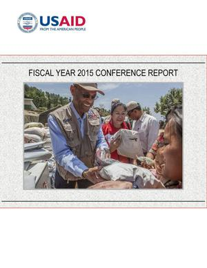 Primary view of object titled 'Fiscal Year 2015 Conference Report'.