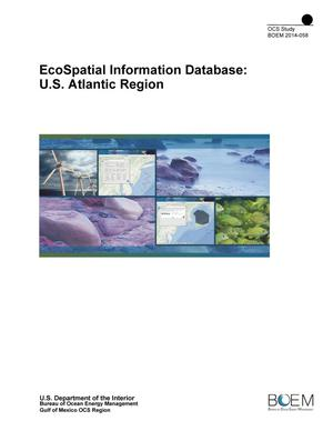 Primary view of object titled 'EcoSpatial Information Database: U.S. Atlantic Region'.