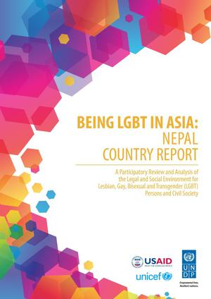 Primary view of object titled 'Being LGBT in Asia: Nepal Country Report'.