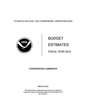 Primary view of object titled 'Budget Estimates - Fiscal Year 2014'.