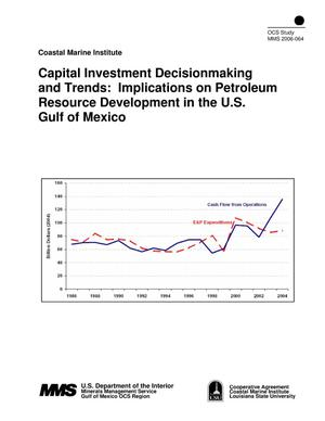 Primary view of object titled 'Capital Investment Decision-Making and Trends: Implications on Petroleum'.