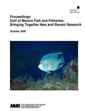 Primary view of object titled 'Gulf of Mexico Fish and Fisheries: Bringing Together New and Recent Research'.
