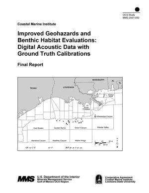 Primary view of object titled 'Improved Geohazards and Benthic Habitat Evaluations: Digital Acoustic Data with Ground Truth Calibrations'.