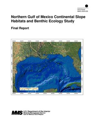 Primary view of object titled 'Northern Gulf of Mexico Continental Slope Habitats and Benthic Ecology Study'.