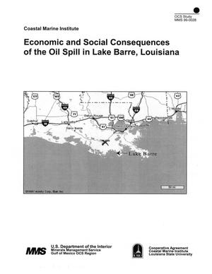 Primary view of object titled 'Economic and Social Consequences of the Oil Spill in Lake Barre, Louisiana'.