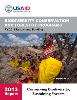 Primary view of object titled 'Biodiversity Conservation and Forestry Programs Annual Report 2013'.