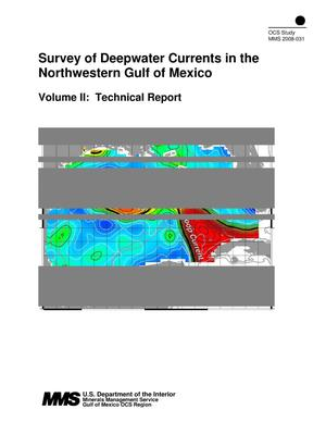 Primary view of object titled 'Survey of Deepwater Currents in the Northwestern Gulf of Mexico, Volume 2: Technical Report'.