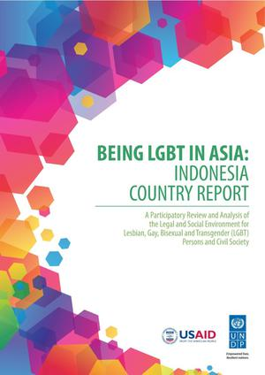 Primary view of object titled 'Being LGBT in Asia: Indonesia Country Report'.