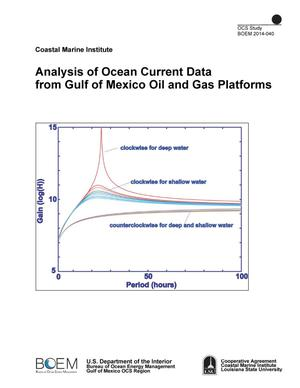 Primary view of object titled 'Analysis of Ocean Current Data from Gulf of Mexico Oil and Gas Platforms'.