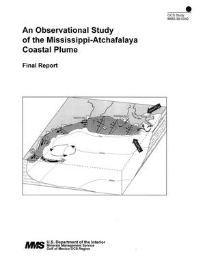Primary view of object titled 'An Observational Study of the Mississippi-Atchafalaya Coastal Plume: Final Report'.