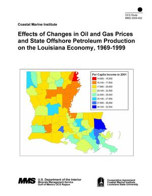 Effects Of Changes In Oil And Gas Prices And State Offshore