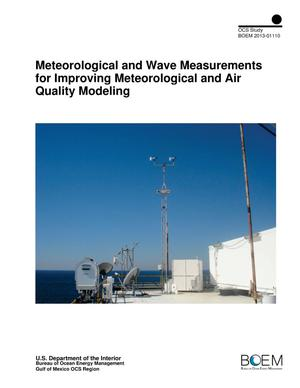 Primary view of object titled 'Meteorological and Wave Measurements for Improving Meteorological and Air Quality Modeling'.