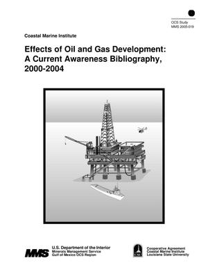 Primary view of object titled 'Effects of Oil and Gas Development: A Current Awareness Bibliography, 2000-2004'.