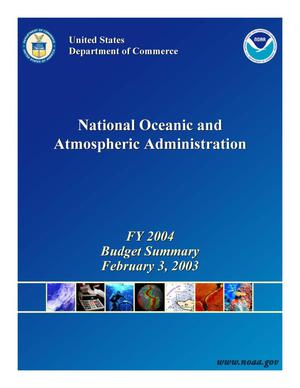 Primary view of object titled 'National Oceanic and Atmospheric Administration'.