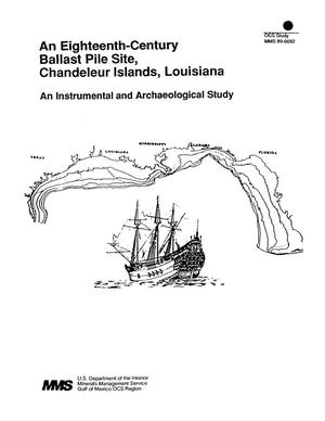 Primary view of object titled 'An Eighteenth-Century Ballast Pile Site, Chandeleur Islands, Louisiana'.