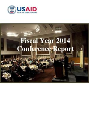 Primary view of object titled 'USAID 2014 Annual Conference Report'.
