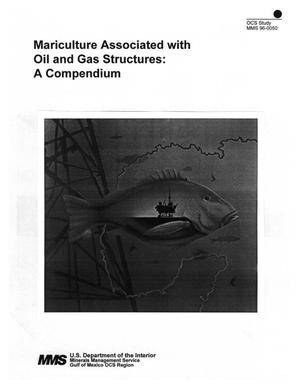 Primary view of object titled 'Mariculture Associated with Oil and Gas Structures: A Compendium'.