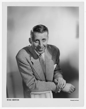 Primary view of object titled '[Stan Kenton Portrait]'.