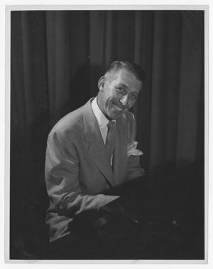 Primary view of object titled '[Portrait of Stan Kenton at the Piano]'.