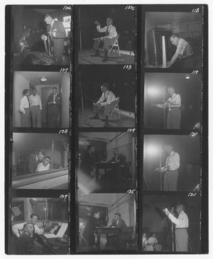 Primary view of object titled '[Stan Kenton at a studio]'.