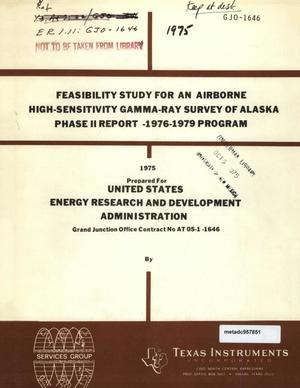 Primary view of object titled 'Feasibility Study for an Airborne High-Sensitivity Gamma-Ray Survey of Alaska: Phase 2 (Final) Report -- 1976-1979 Program'.
