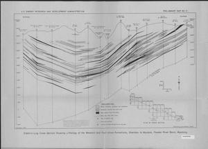 Primary view of object titled 'Electric-Log Cross Section Showing Lithology of the Wasatch and Fort Union Formations, Sheridan to Wyodak, Powder River Basin, Wyoming'.