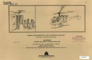 Primary view of object titled 'Aerial Radiometric and Magnetic Survey: Salisbury National Topographic Map, Virginia/New Jersey/Delaware/Maryland'.