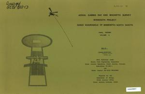 Primary view of object titled 'Aerial Gamma Ray and Magnetic Survey, Final Report. Volume 2: Fargo Quadrangle of Minnesota/North Dakota'.