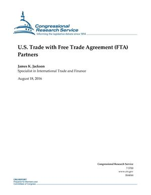 Primary view of object titled 'U.S. Trade with Free Trade Agreement (FTA) Partners'.