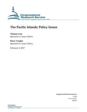 Primary view of object titled 'The Pacific Islands: Policy Issues'.