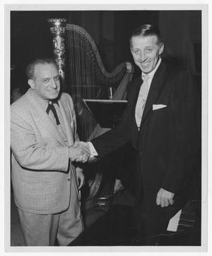 Primary view of object titled '[Stan Kenton and Al Goodman]'.