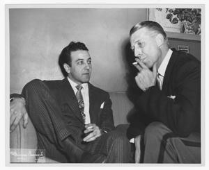 [Stan Kenton with Barry Ulanov]
