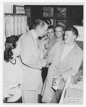 Primary view of object titled '[Stan Kenton and young people]'.