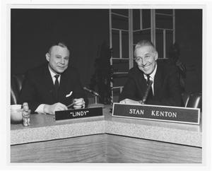 "Primary view of object titled '[Stan Kenton and ""Lindy""]'."