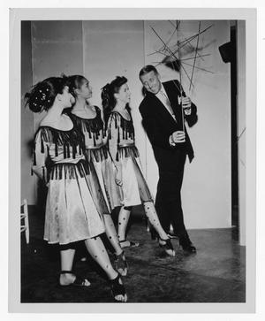 Primary view of object titled '[Kenton and members of Lester Horton Dance Theater]'.