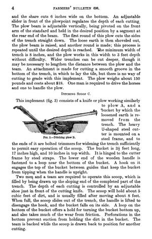 Trenching Machinery Used for the Construction of Trenches