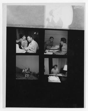 Primary view of object titled '[Stan Kenton with Benny Carter]'.