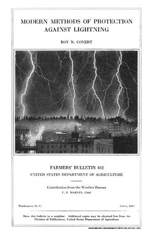 Primary view of object titled 'Modern Methods of Protection Against Lightning'.