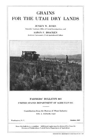 Primary view of object titled 'Grains for the Utah Dry Lands'.