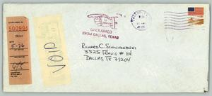 Primary view of object titled '[Envelope: Richard C. Schwiderski]'.