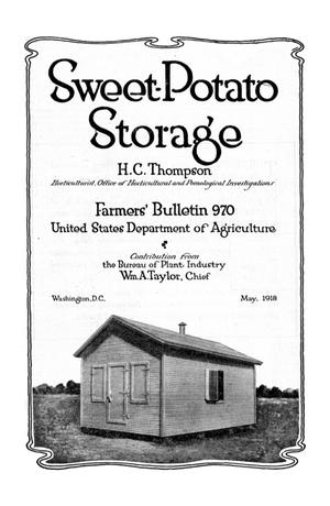 Primary view of object titled 'Sweet-Potato Storage'.