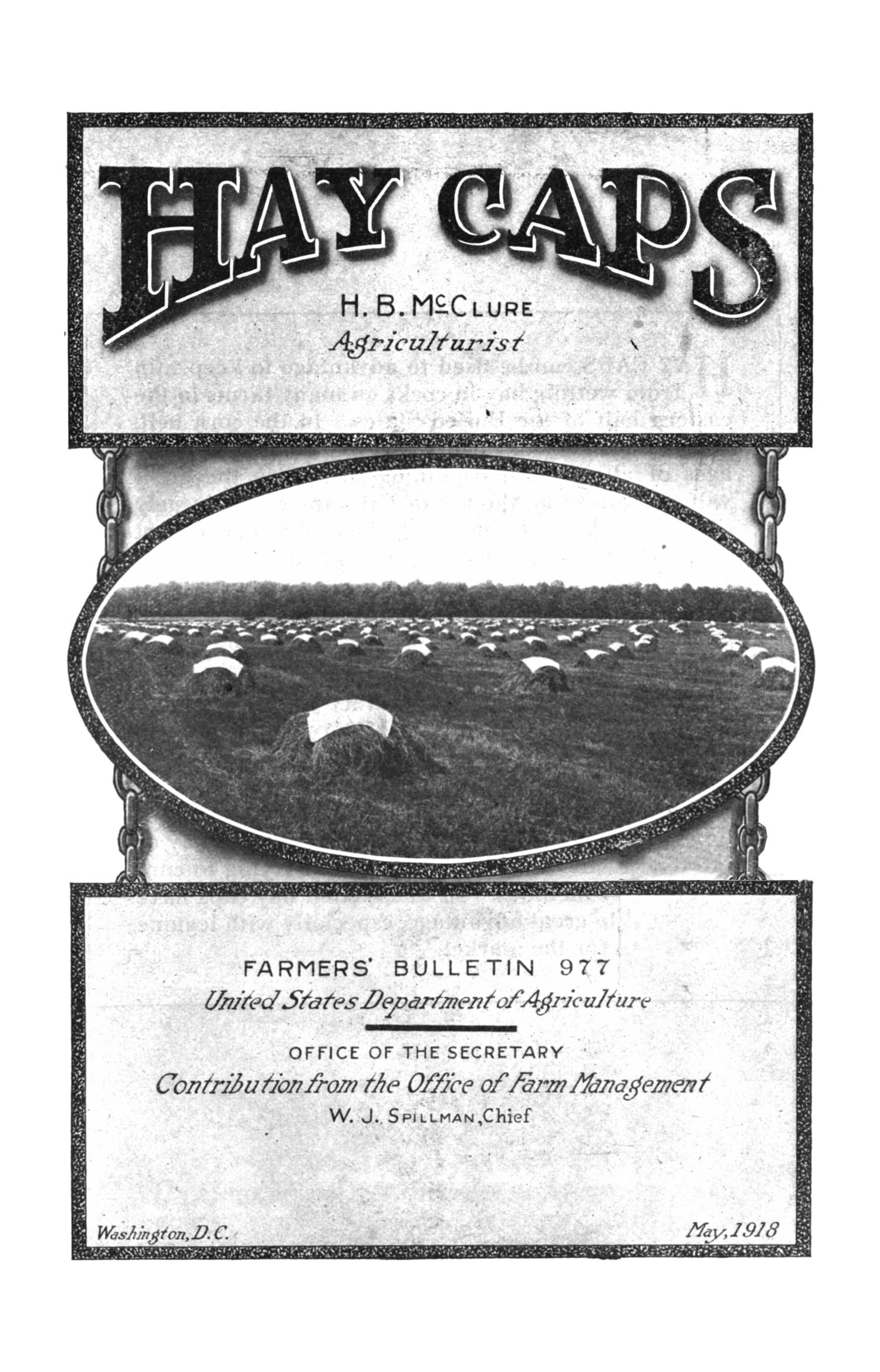 Hay Caps                                                                                                      Title Page
