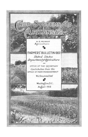 Primary view of object titled 'Crop Systems for Arkansas'.