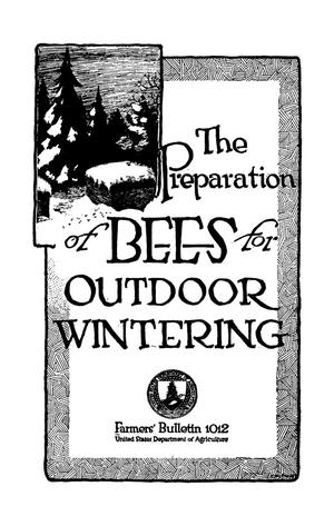 Primary view of object titled 'The Preparation of Bees for Outdoor Wintering'.
